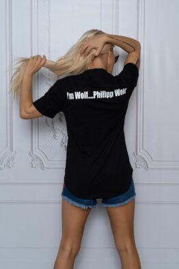 """Дамска тениска """"Wolf"""" - 1"""